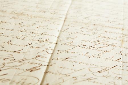 Handwritten text pattern as background or as wallpaper