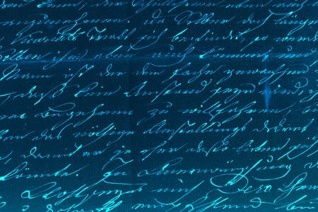 Handwritten text pattern for background or as wallpaper photo
