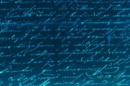 penman: Handwritten text pattern for background or as wallpaper