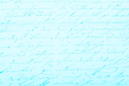 post scripts: Old handwritten text pattern for background or as wallpaper Stock Photo