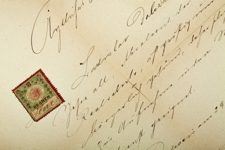 post scripts: Handwritten text pattern as background or as wallpaper