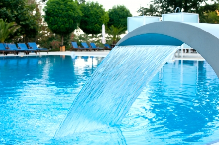 Hydrotherapie Wasserfall