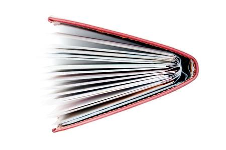 pocketbook: Pocketbook on white background
