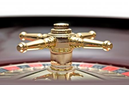 ruleta de casino: Casino ruleta de cerca Foto de archivo