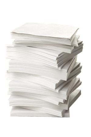 Ream von Papieren Standard-Bild - 25176069