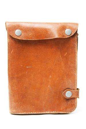 pocketbook: Vintage pocketbook closeup