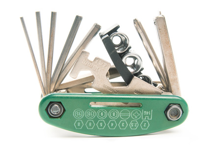 necessary: Multi-tool for bicycle Stock Photo
