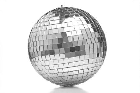 Disco ball closeup