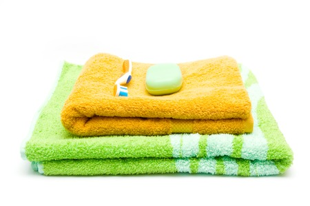 Towels,tooth-brush and soap