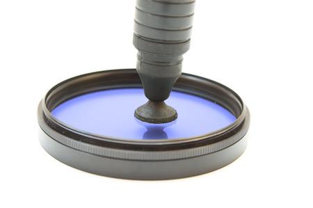cir: Lenspen cleaning polarising filter
