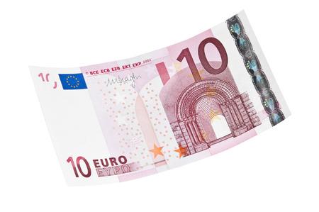 10 ?-Banknote Lizenzfreie Bilder