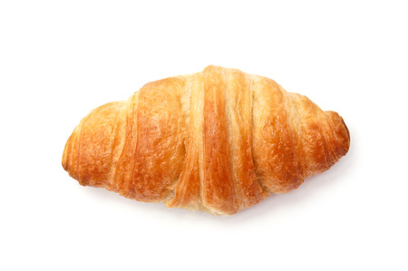 Croissant isilated on white