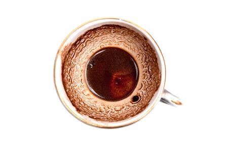 residue: Coffee residue