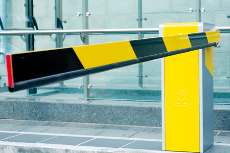 security barrier: Security barrier