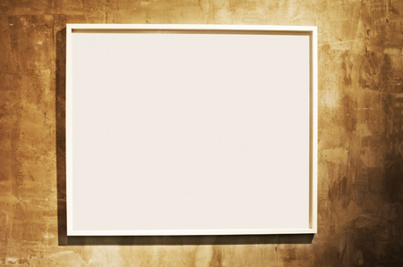 gallerie: Frame on cement wall