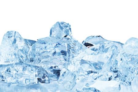 Blue ice closeup