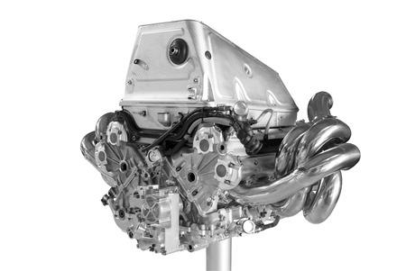 exhaust valve: New car engine