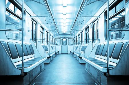 U-Bahn Innen Standard-Bild - 28739759