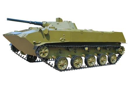 tracked: Military tracked vehicle Stock Photo