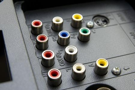rca: Input-output TV connectors