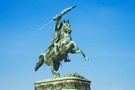 archduke: Equestrian monument of Archduke Charles on Heldenplatz, Vienna, Austria
