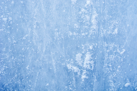 Ice on skating rink Standard-Bild