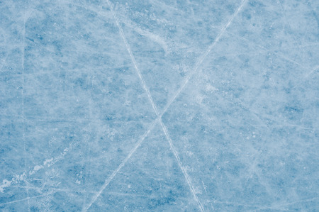 ice surface: Ice surface on skating rink Stock Photo