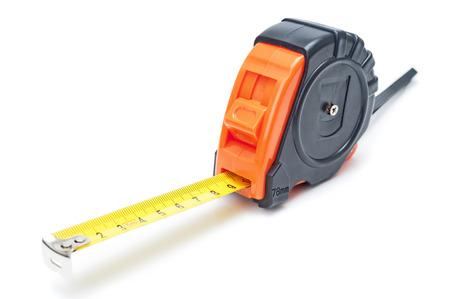 Tape measure closeup