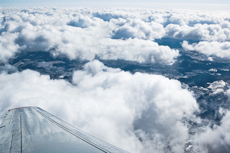 airfoil: View from the airplane window
