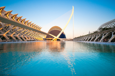 sciences: The city of the Arts and Sciences in Valencia, Spain.