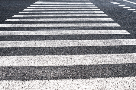 crosswalk: Pedestrian crosswalk Stock Photo