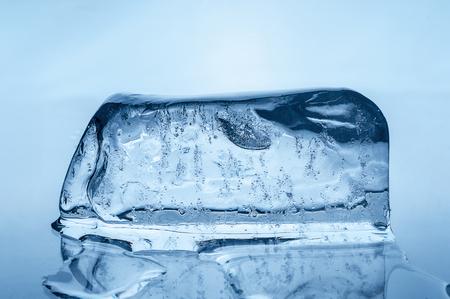 melting ice: Melting ice block