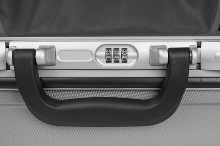 combination: Combination lock of a suitcase