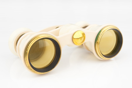 antique binoculars: Antique opera binoculars closeup