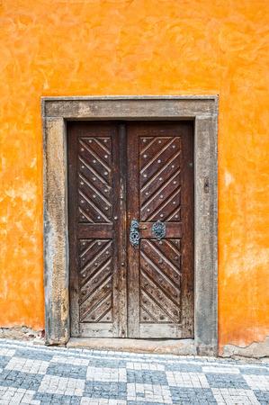 doorway: Antique doorway