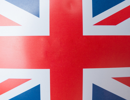 Flag of Great Britain as background
