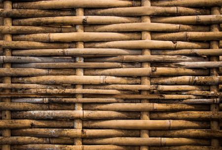 grunge dirty weave bamboo pathway photo