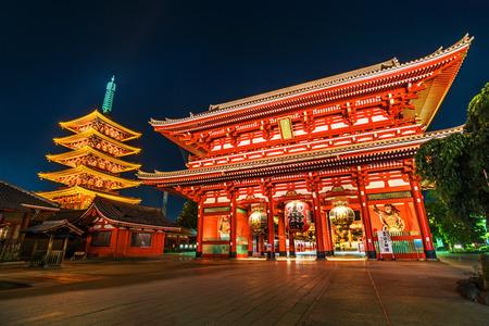 asakusa: Asakusa, Sensoji temple