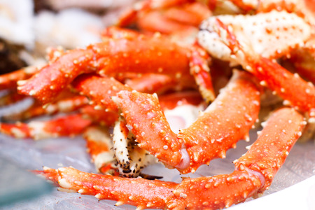crab legs: Crab legs