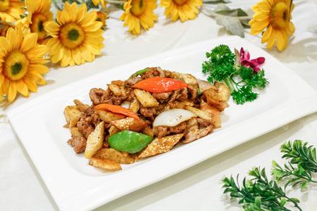 xinjiang: cuisine Xinjiang Banque d'images
