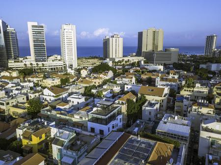 Rothschild Boulevard, Ahad Haam, Neve Tzedek is a neighborhood located in southwestern Tel Aviv Israel Stock Photo