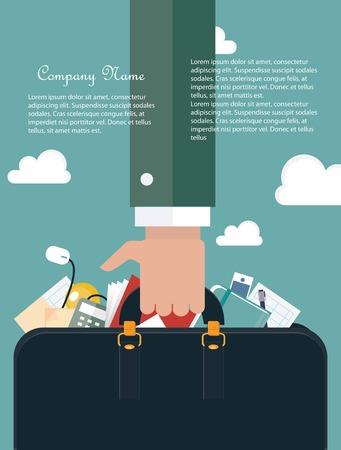Contemporary business concept