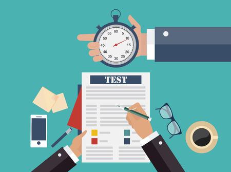 cronometro: Concepto de negocio competitivo