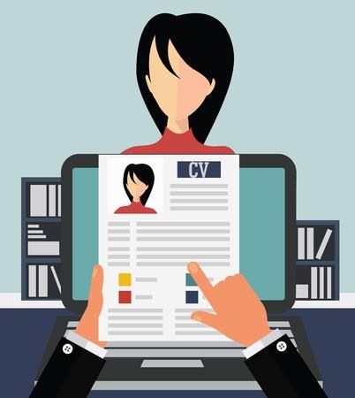 entrevista: Concepto de trabajo Vectores