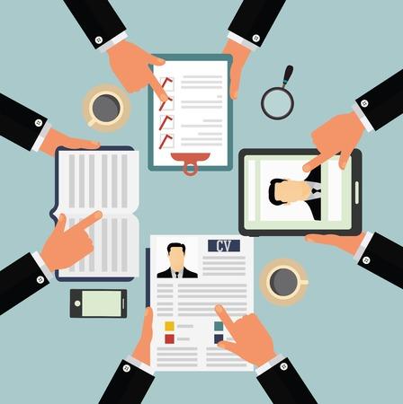 supervisores: Candidato concepto de selección Vectores