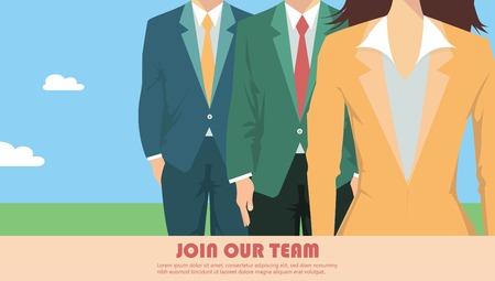 Business team presentation  イラスト・ベクター素材