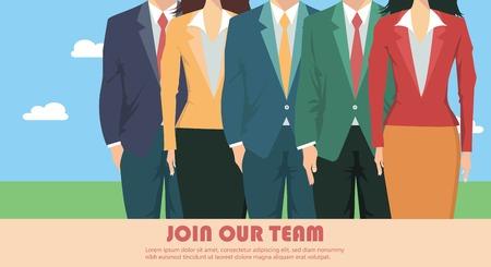 Presentazione della squadra di affari