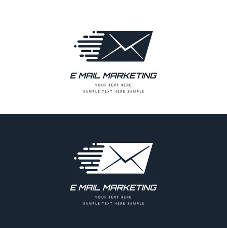 web elements: E-mail marketing concept