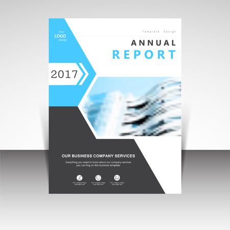 Ilustración de negocio anual información folleto de diseño vectorial. Presentación de negocios, cartel, portada, folleto, bandera, folletos, volantes, boletines, revistas, publicaciones, página de destino plantilla de diseño