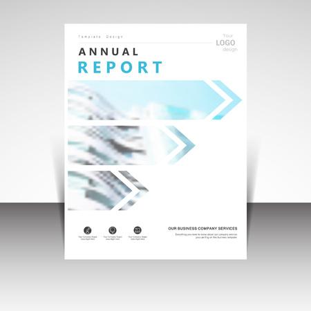 publication: Business annual report brochure design vector illustration. Business presentation, poster, cover, booklet, banner, leaflet, flyer, newsletter, magazine, publication, landing page layout template
